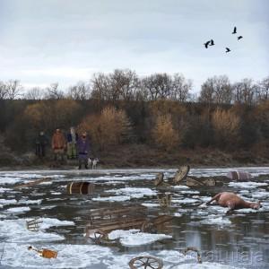 басня крылова крестьяне и река