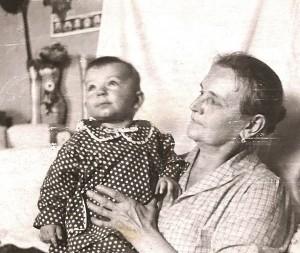 Бабушка Вера и я