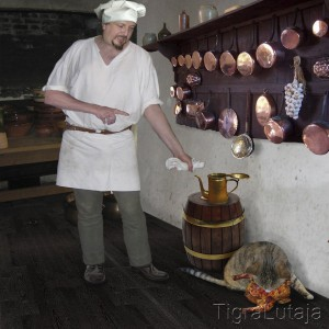 Басня Крылова Кот и Повар