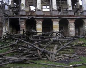 Ропшинский дворец, руины