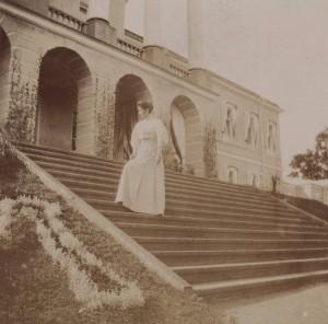 Ропшинский дворец, старый снимок