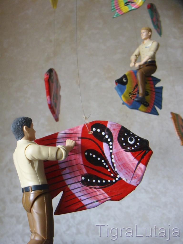 Ося и Киса седлают летучих рыб