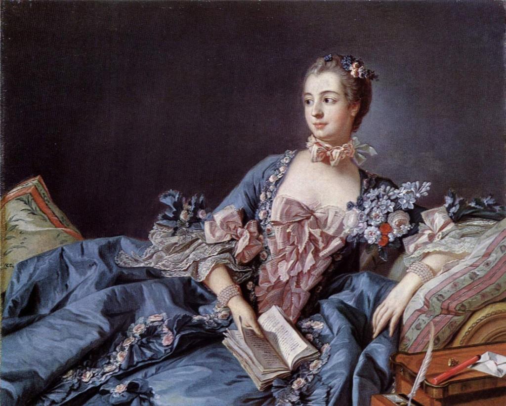 портрет маркизы де Помпадур работы Франсуа Буше
