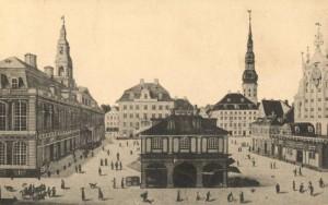Ратушная площадь в Риге